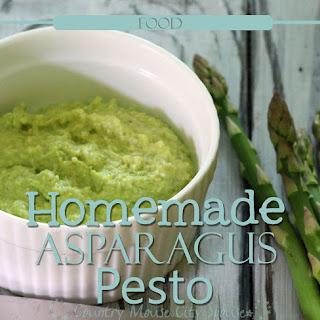 Asparagus Lovers Homemade From You Backyard Asparagus Pesto Recipe