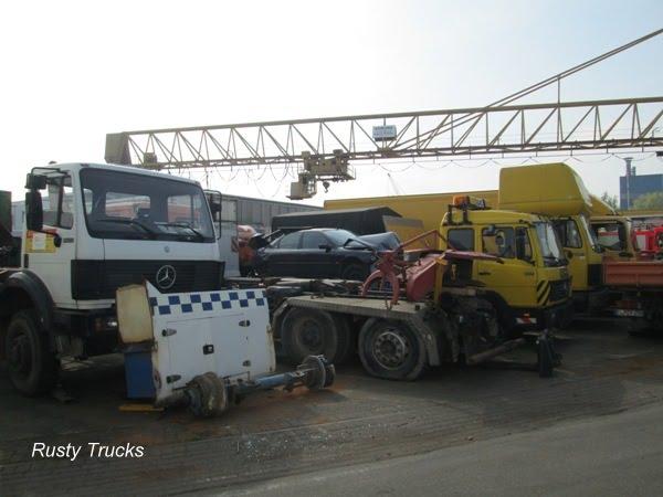 Foto 39 s van vrachtwagensloperijen in duitsland for Mbc gilles choukroun