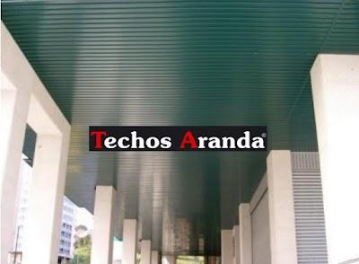 Techos de aluminio en Villamiel de Toledo