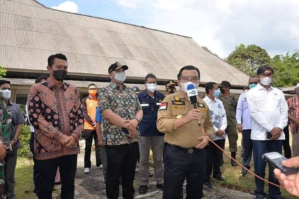 Sambangi Batanghari, Al Haris Tawarkan Bantuan Pemulihan Ekonomi