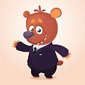 Cartoon Funny Bear Funny Free Download Vector CDR, AI, EPS and PNG Formats