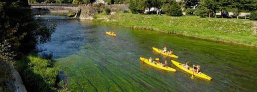 Bruselas Valonia: paseo en kayak por un río