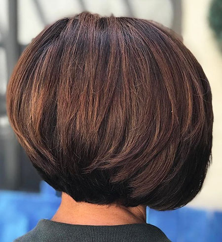 short layered bob hairstyles for thick hair  fashionre