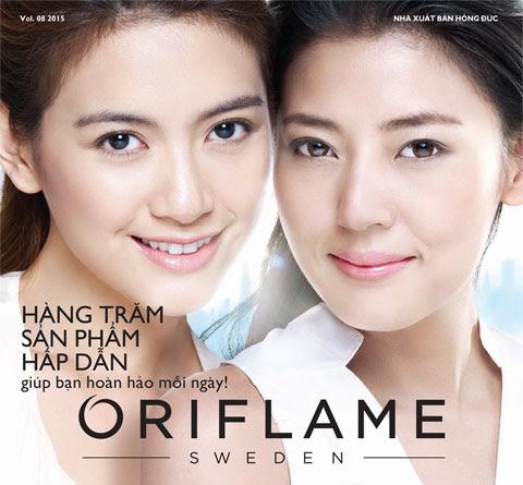 Catalog Oriflame tháng 8/2015