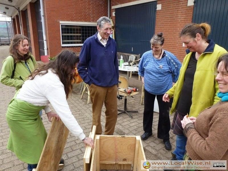 Ecotoiletten workshop in Groningen 2013