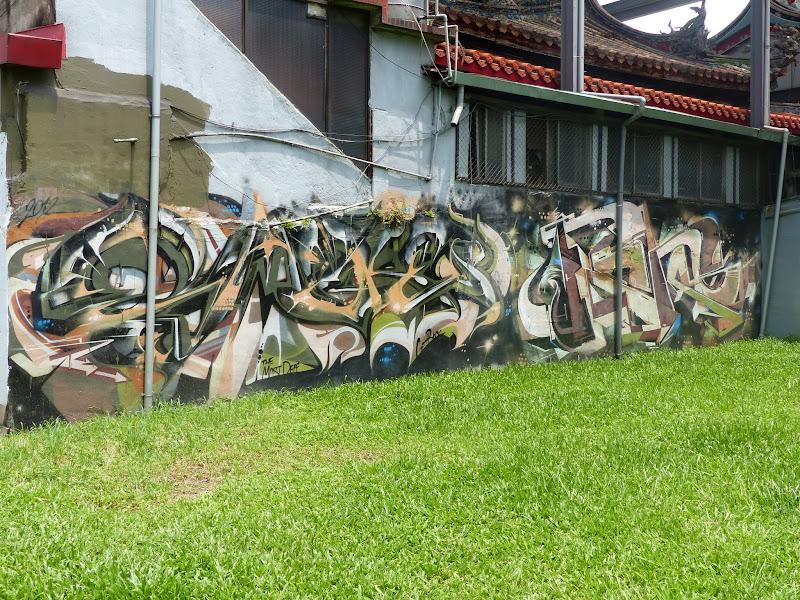 Taipei. Street art à Ximen et Youth park - P1250130.JPG