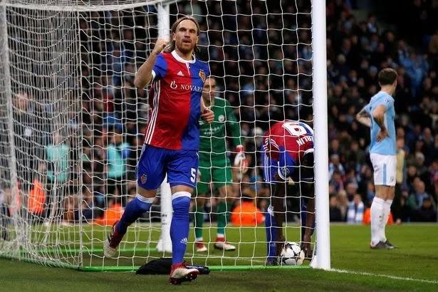 5 TALKING POINTS! Manchester City 1-2 Basel (5-2 Agg)… Michael Lang Stuns City But First-Leg Advantage Enough!!!
