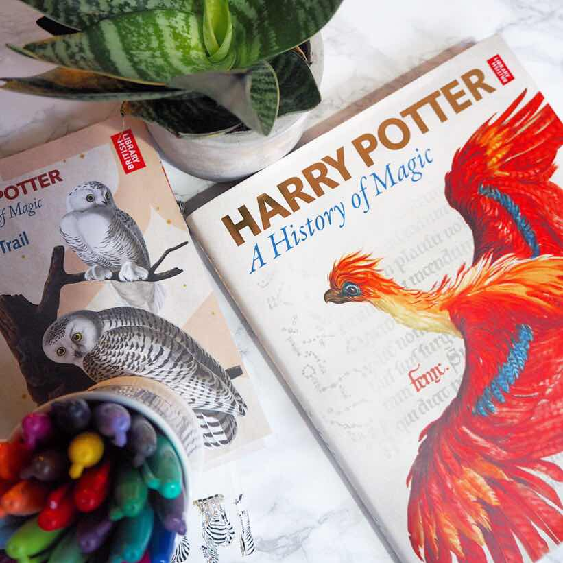 lifestyle-blog-london-harry-potter-a-history-of-magic-exhibition-the-british-library