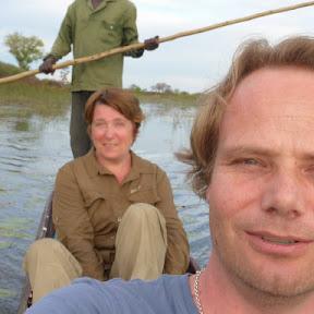 In de Mokoro (Okavango Delta)