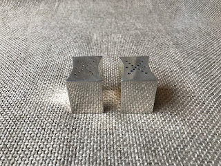 Sterling Silver Allan Adler Salt and Pepper Shakers 1