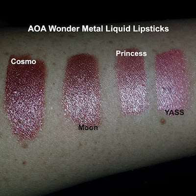 AOA Wonder Metal Liquid Lipsticks