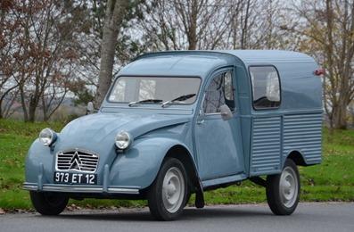 Citroën 1963 2 CV AK 350