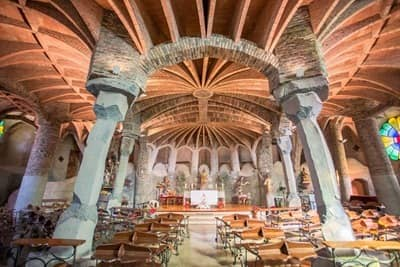 Colonia Guell Church Barcelona