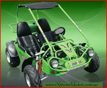 Green 150cc GT Twister Dune Buggy