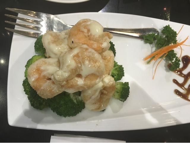Lugang Café Wasabi Mayo Prawns