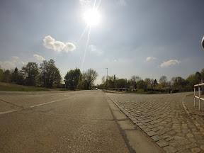 Die Strecke aus Sicht meiner am Lenker befestigten GoPro