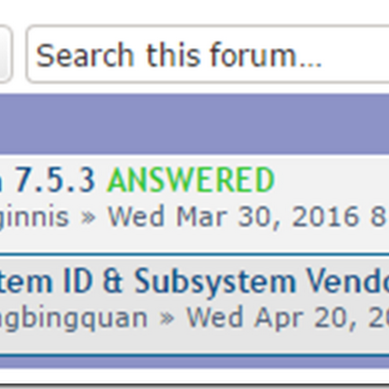 New Technical Forum for PCI-SIG Members