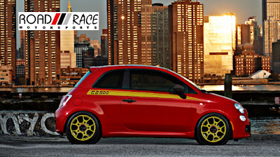 Road Race Motorsports Fiat 500 CLUB /// SPORTIVO