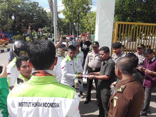Aksi Unras IHI Suarakan Beberapa Dugaan Kausus Korupsi di Sinjai