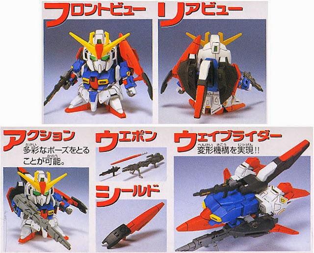 Zeta Gundam nhỏ xinh, kết cấu đầy tính biểu cảm, sống động