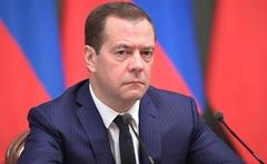 Prime Minister Dmitry Medvedev.