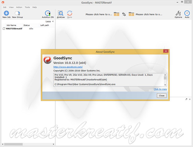 GoodSync 10 Pro Enterprise Server