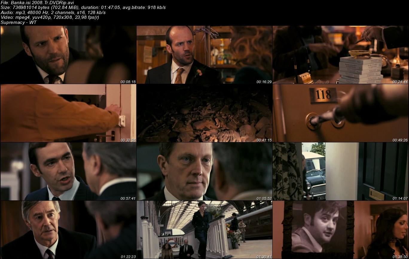 Banka İşi - 2008 Türkçe Dublaj DVDRip Tek Link indir
