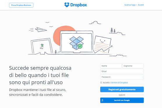 registrazione-dropbox