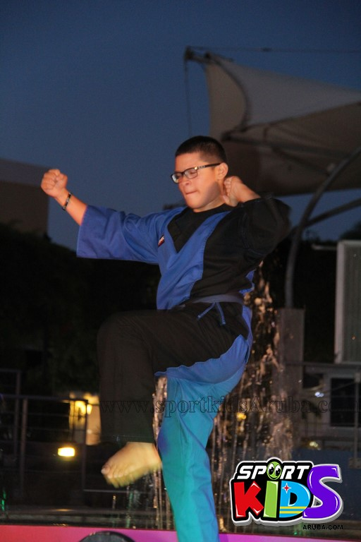 show di nos Reina Infantil di Aruba su carnaval Jaidyleen Tromp den Tang Soo Do - IMG_8690.JPG
