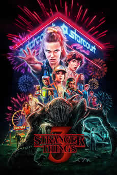capa Stranger Things 3ª Temporada