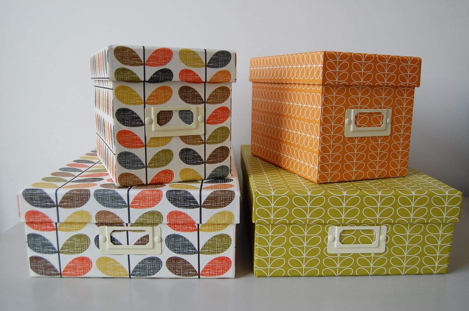 rose avril bo tes de rangement orla kiely. Black Bedroom Furniture Sets. Home Design Ideas