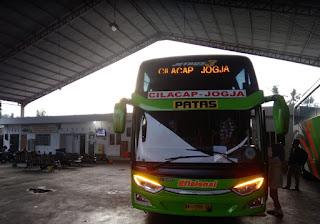 Bus Cilacap Jogja