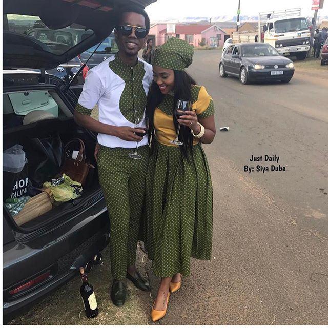 Mama Africa Shweshwe Dresses Gallery 2018