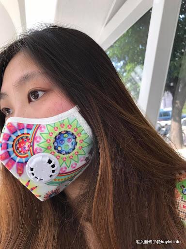 【懶懶子愛用】vogmask威隔口罩N99 CV口罩 Manish Arora Paisley 機車通勤族必備-世界級防霧霾、pm2.5口罩,可過濾顆粒0.3微米,阻隔PM2.5、灰塵、細菌、花粉及其他空氣污染物對人體的危害