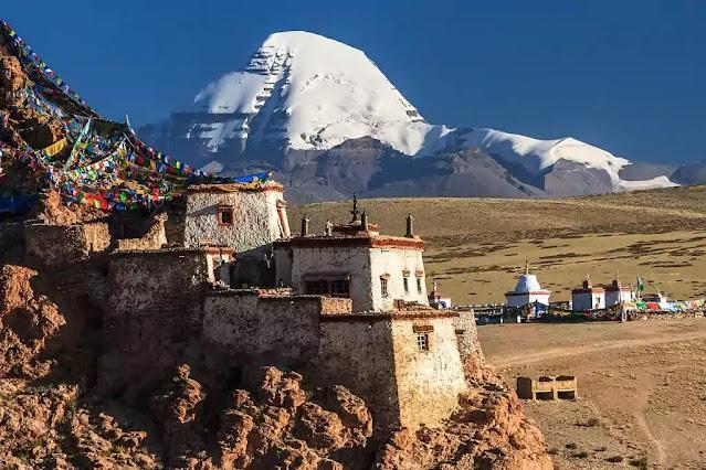 कैलाश पर्वत की चोटी तक पहुँचना?