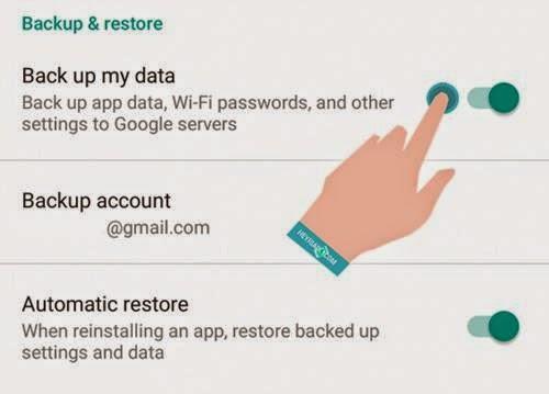 file dan Aplikasi yang sudah terinstall di Android sebelum factory reset bekerjsama sanga Cara Backup Data Android Sebelum Factory Reset
