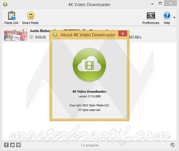 4K Video Downloader 3.7