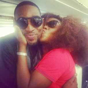 Omawumi caught kissing Dbanj 411vibes