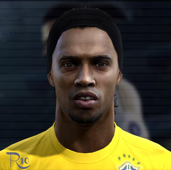 Ronaldinho Face - PES 2012