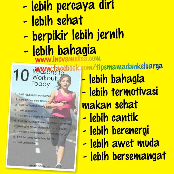 10 Alasan Kenapa Mama Harus Berolahraga