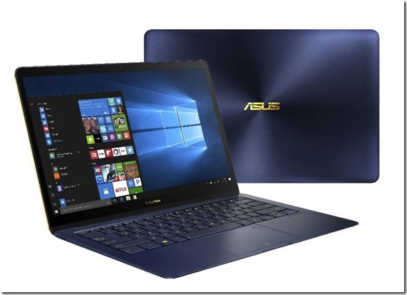Asus Zenbook 3 Deluxe UX490 Kini Makin Kencang dengan Intel Core i7 Generasi Kedelapan