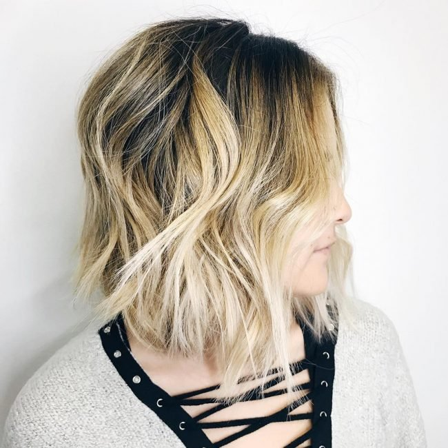 Brown and Blonde Ombre Hairstyles
