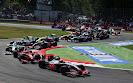 Start of 2009 Italian F1 GP