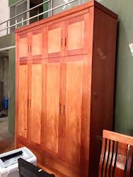 Tủ quần áo gỗ MS-212