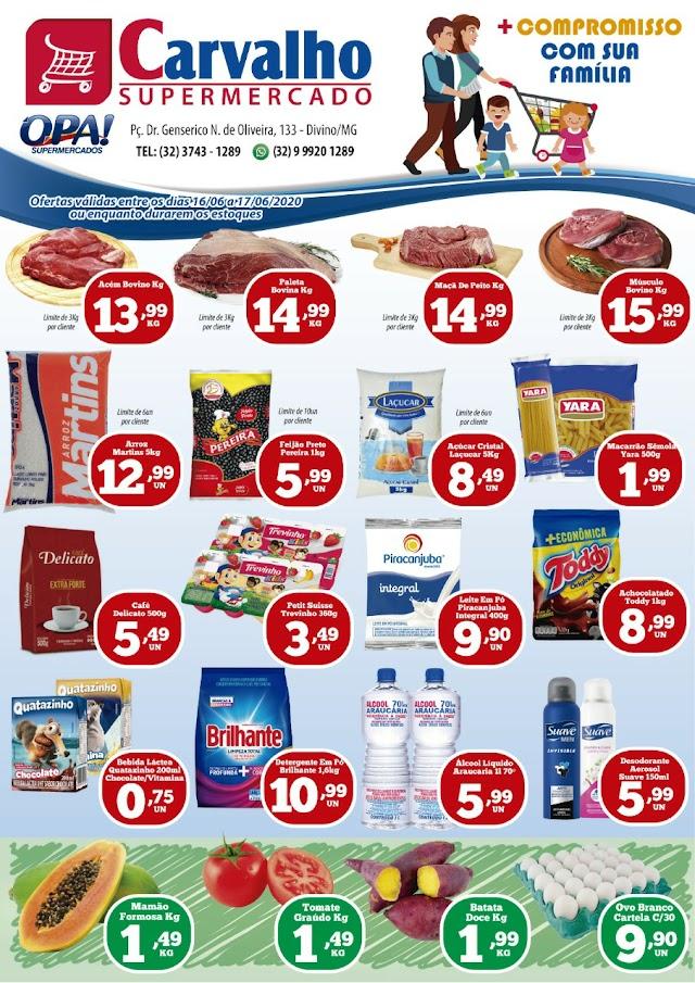 😍Confira as Ofertas do Carvalho Supermercado para está terça e quarta!