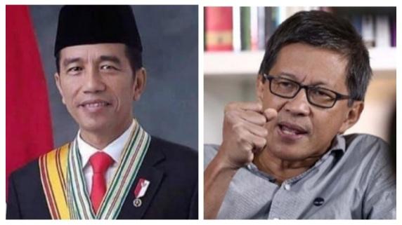 Sebut Kepemimpinan Jokowi di Bidang Covid-19 Buruk Sekali, Rocky Gerung: Beliau Itu Gagal
