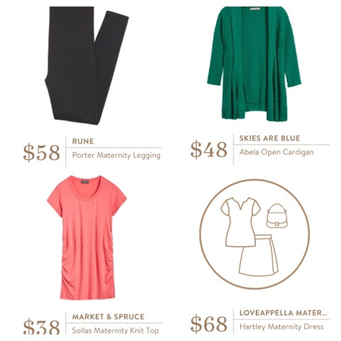 Stitch Fix #13 - March 2016 (Maternity Fix)