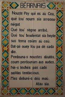 02-Carmel du Pater, le Notre Père en béarnais