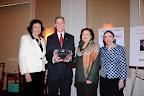 Virginia Chandler Dykes, Joel Allison, 2010 recipient Kathleen Mason, Dr. Ann Stuart