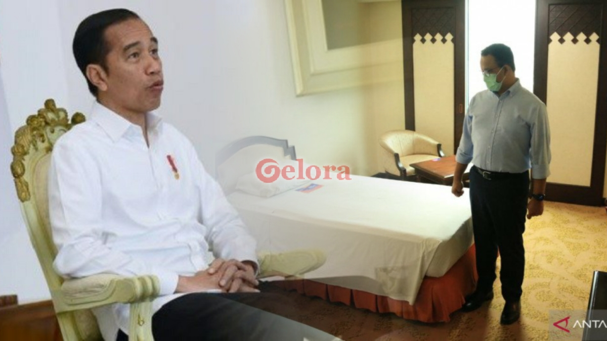 Jokowi Mati Gaya, Anies The Real Leader